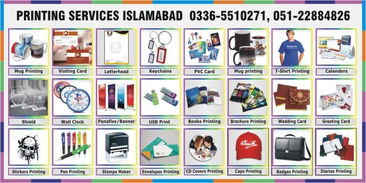 Printing Services Islamabad