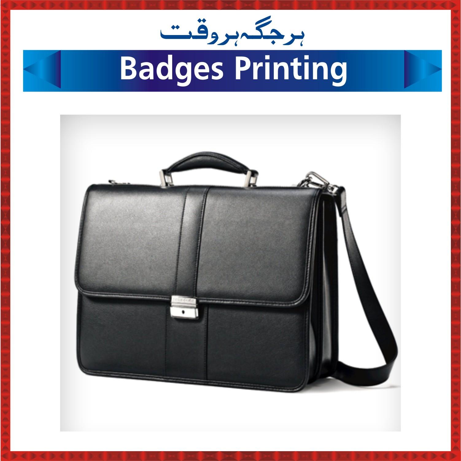 Badges-Printing